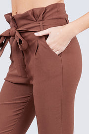 Pants & Culotte It's Friday - High Waisted Stretch Pants - The Luxstop