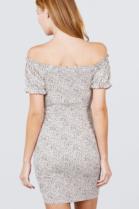 Mini Dresses Young Luxury - Woven Mini Dress - The Luxstop