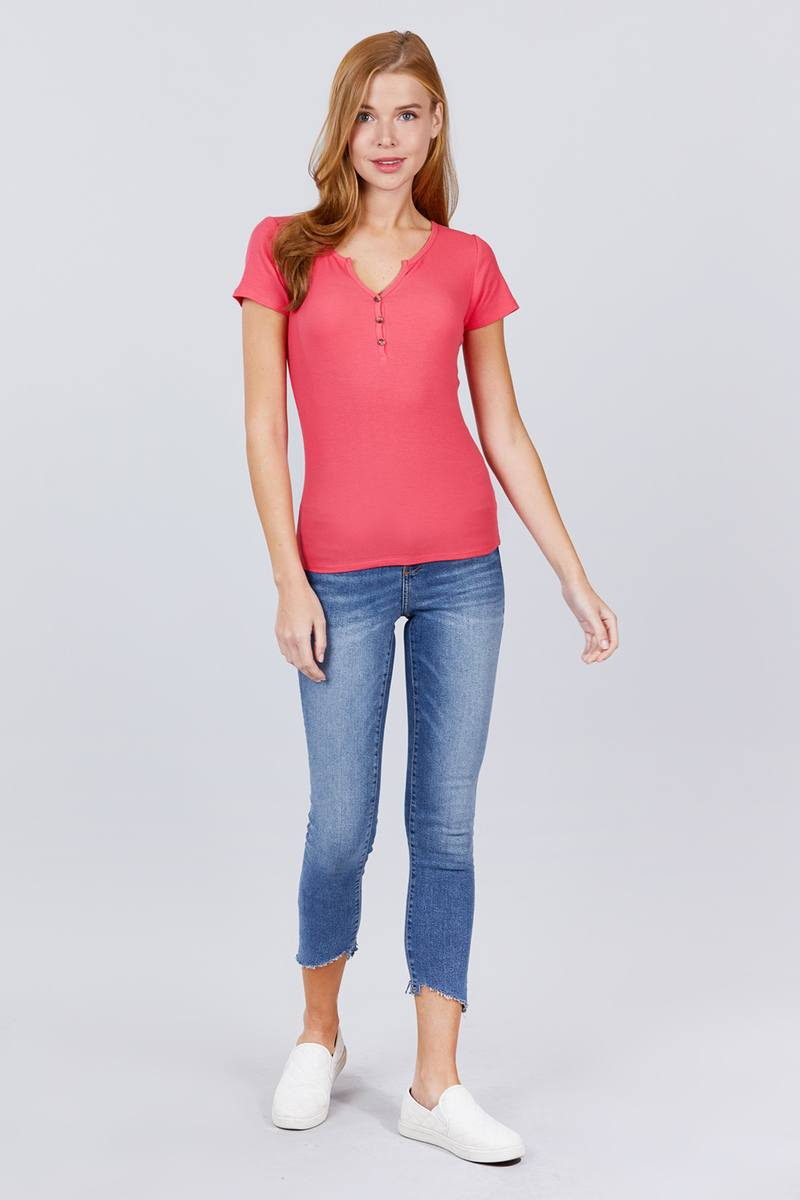 Tops It's Friday - Rib Knit Top - The Luxstop