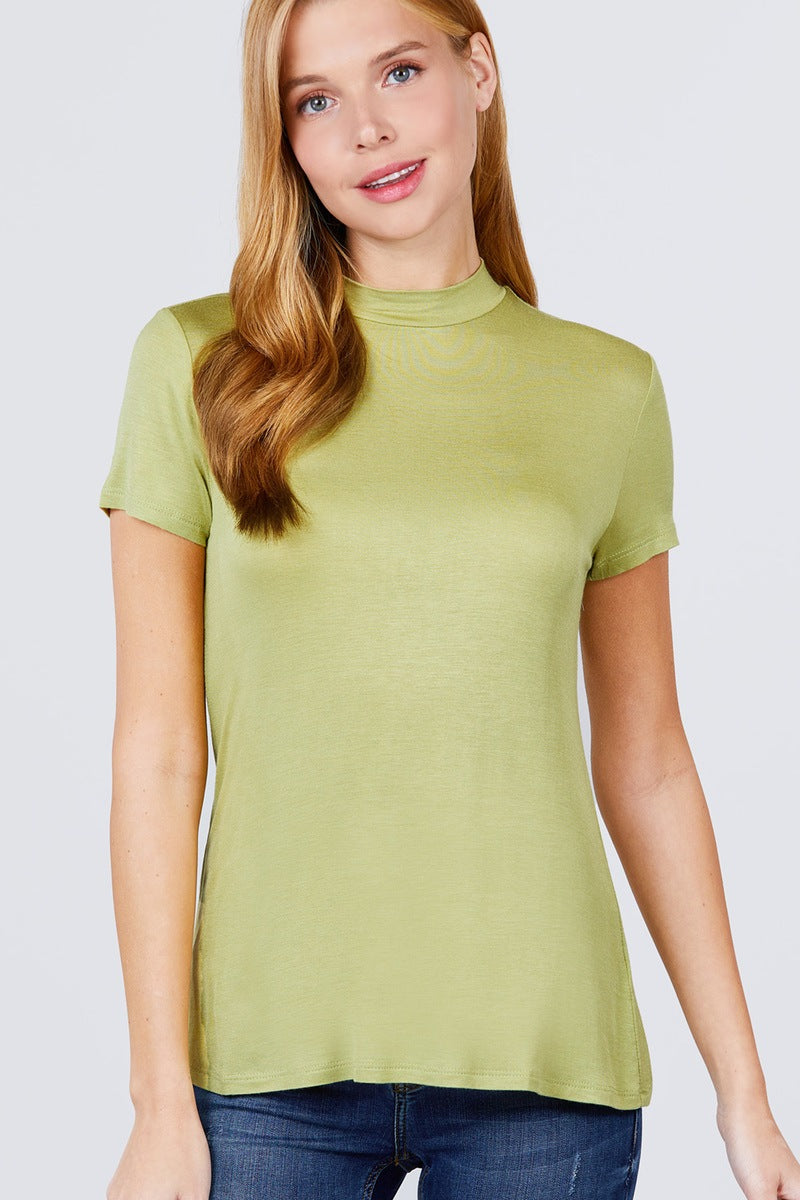 Opal Essence - Spandex Rib Top - The Luxstop
