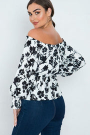 Tops It's Friday -Off Shoulder Shirt - The Luxstop