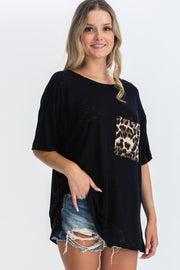 It's Friday - Animal Pocket Top - The Luxstop