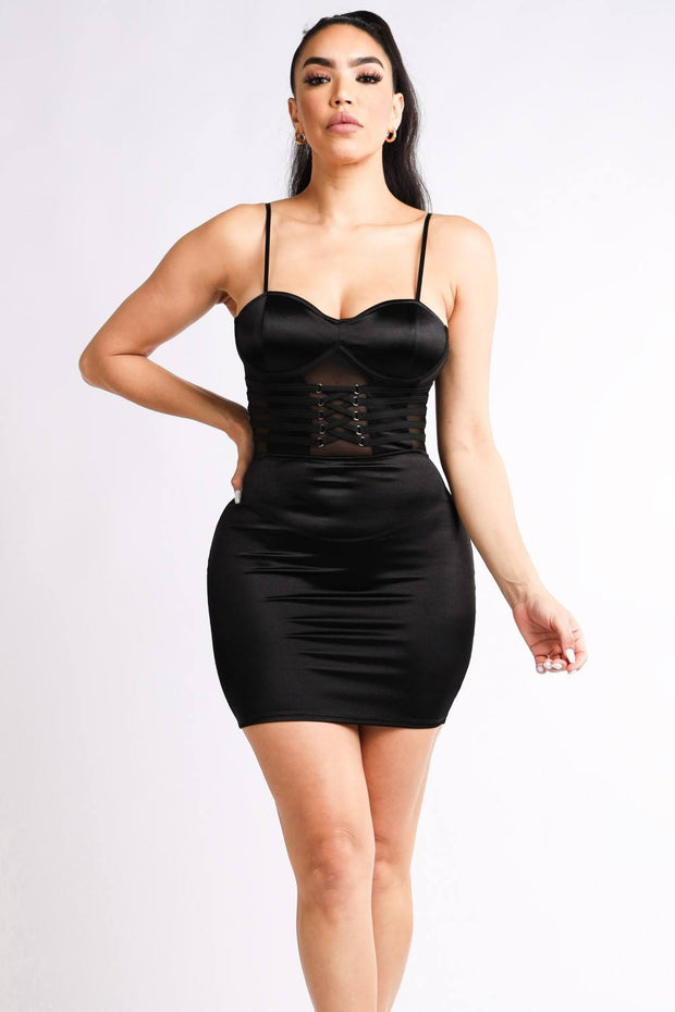 Lux Allure - Caged Dress - The Luxstop