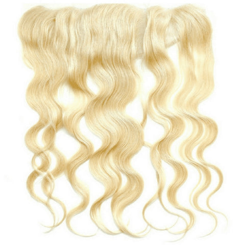 Sad'e - Brazilian Blonde Body Wave Frontal - The Luxstop