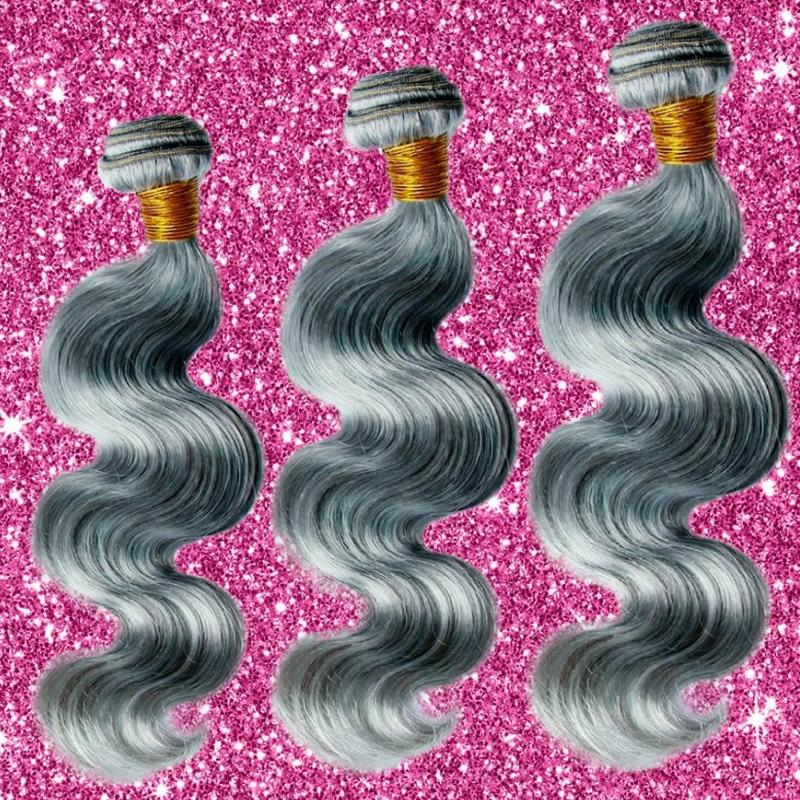 Sad'e - Brazilian Gray Body Wave Bundle Deal - The Luxstop
