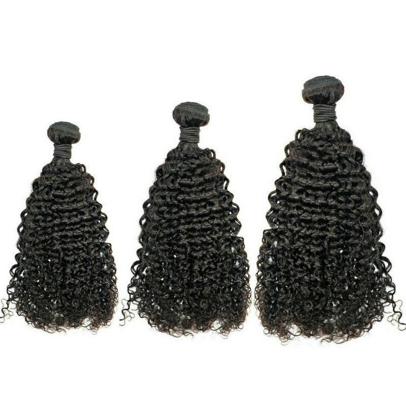 Sad'e - Brazilian Kinky Curly Bundle Deals - The Luxstop