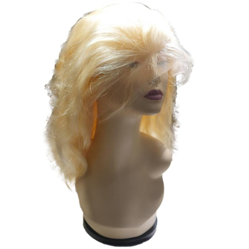 Sad'e - Front Lace Blonde Body Wave Wig - The Luxstop