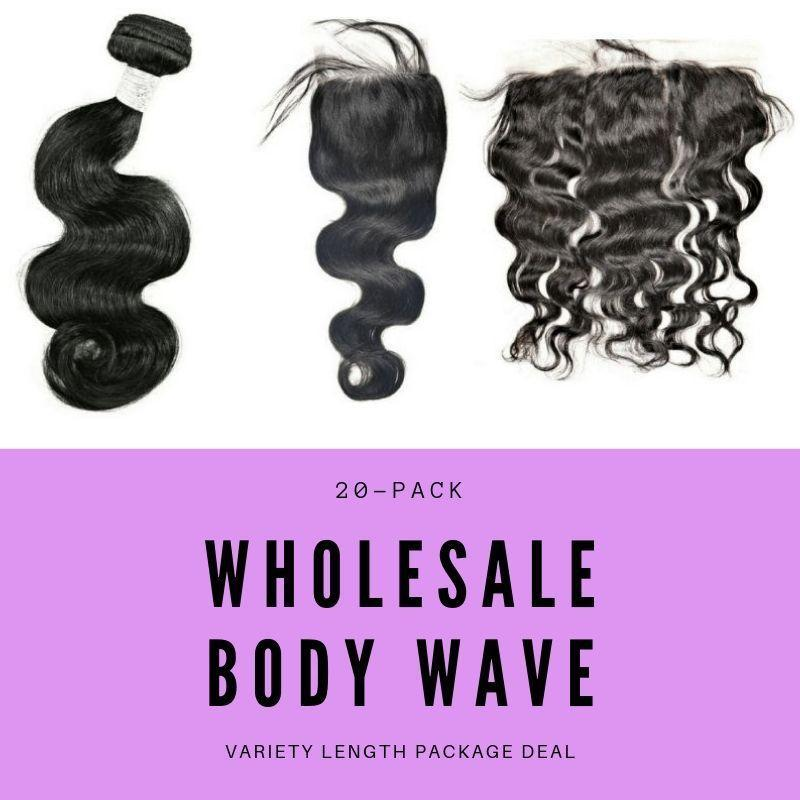 Sad'e - Malaysian Body Wave Variety Length Wholesale Package - The Luxstop
