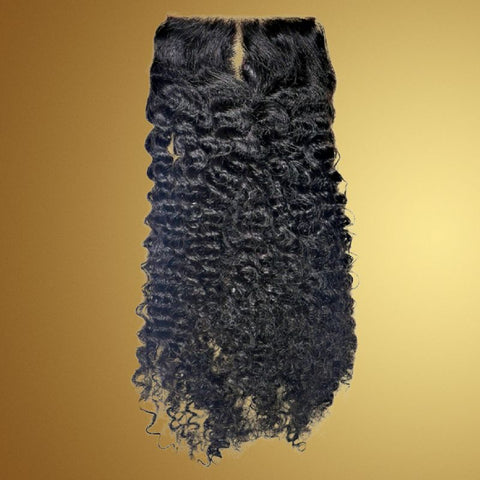 Sad'e - Afro Kinky Curly Closure - The Luxstop