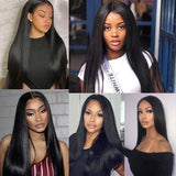 32 34 36 38 40 Inch Straight Human Hair Bundles 3 4 pieces Bundles