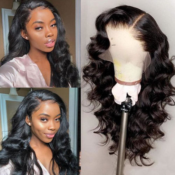 Abigail Swiss Lace 250% Pre-plucked 13x6 Hide Lace+ Hide Knots Body Wave Lace Wig
