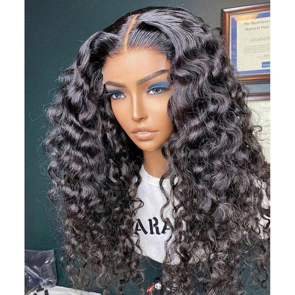 Ailsa Preplucked Hairline Loose Wave Wigs 13*4 Lace Front Human Hair Wig