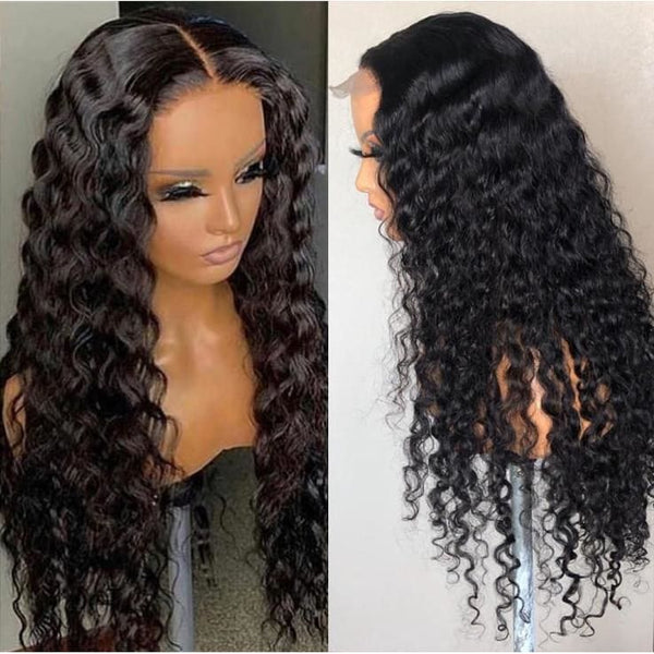 Amina HD Swiss Lace 5X5 Closure Loose Wave Wig