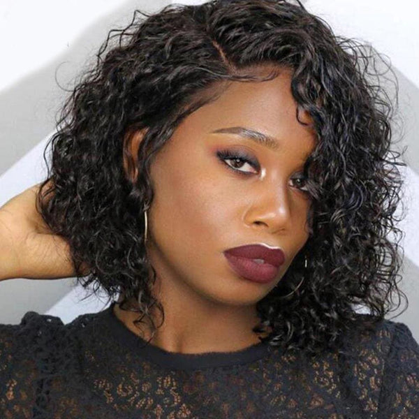 BERTHA GORGEOUS WATER WAVE BOB 13*6 LACE WITH BABY HAIRLINE