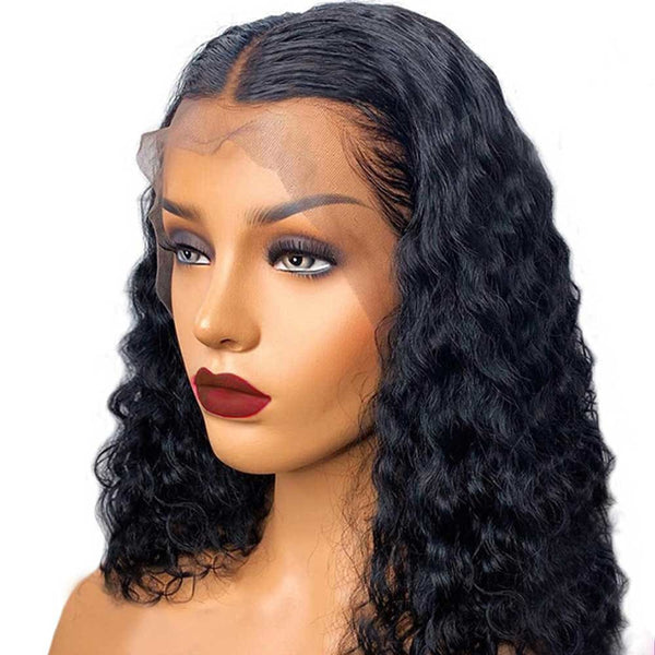 Charity 13x6 Lace Front Wig Water Wave Short Bob wig