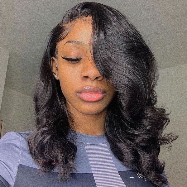 Claire 13x6 Lace Front Wig Body Wave Short Bob wig