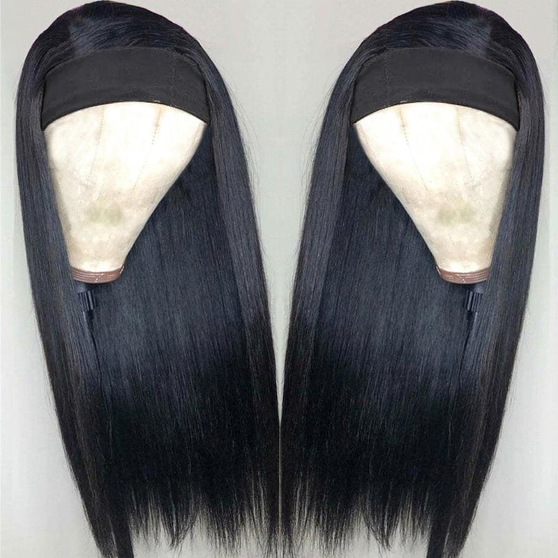 Joyce Headband Silk Straight Wig Beginner Friendly