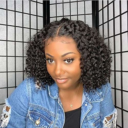 Makana 360 LACE BOB JERRY CURLY HUMAN HAIR WIGS