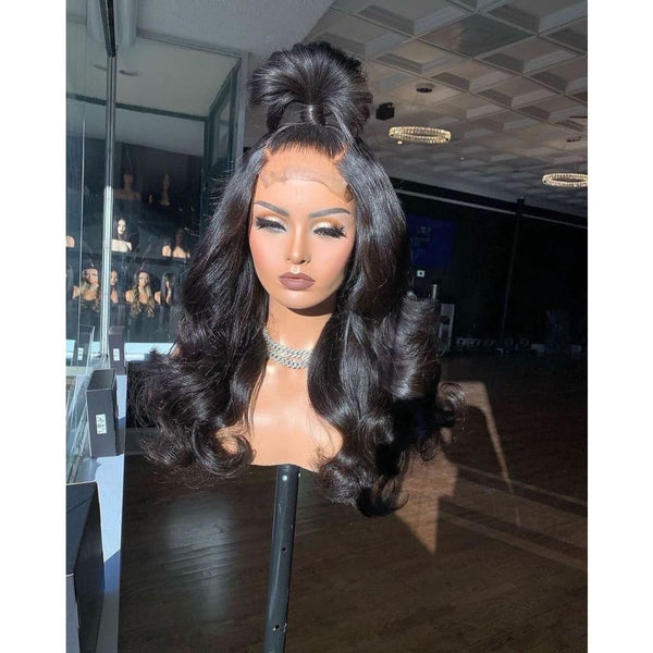 Paisley HD Swiss Lace 5X5 Closure Body Wave Wig