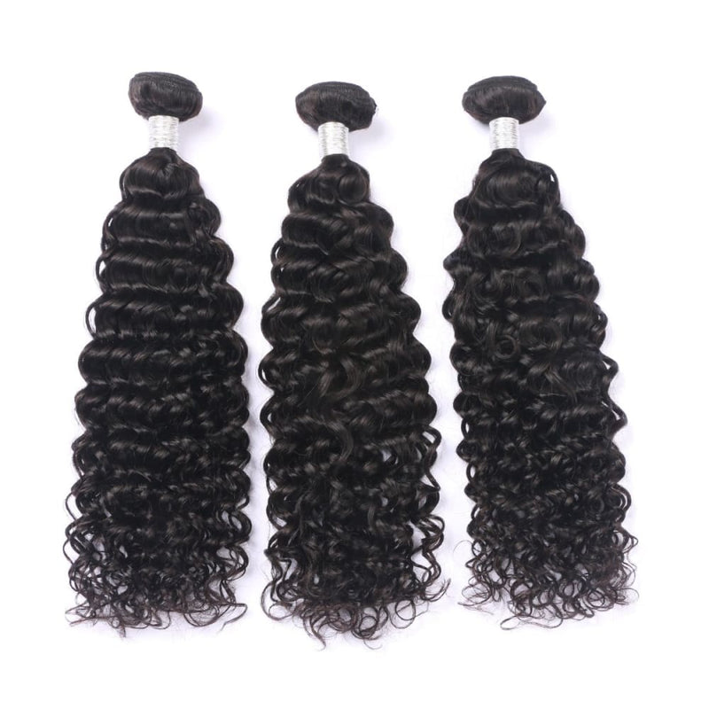 Peruvian Virgin Human Hair Wave Bundles Deep Wave Hair 3 PCS