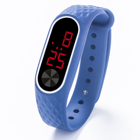 LED Digital Sport Watch for Kids w/ Silicone Band