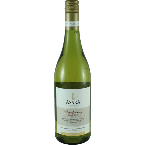 Asara Collection Lightliy wooded Chardonnay 2016 - Südafrika