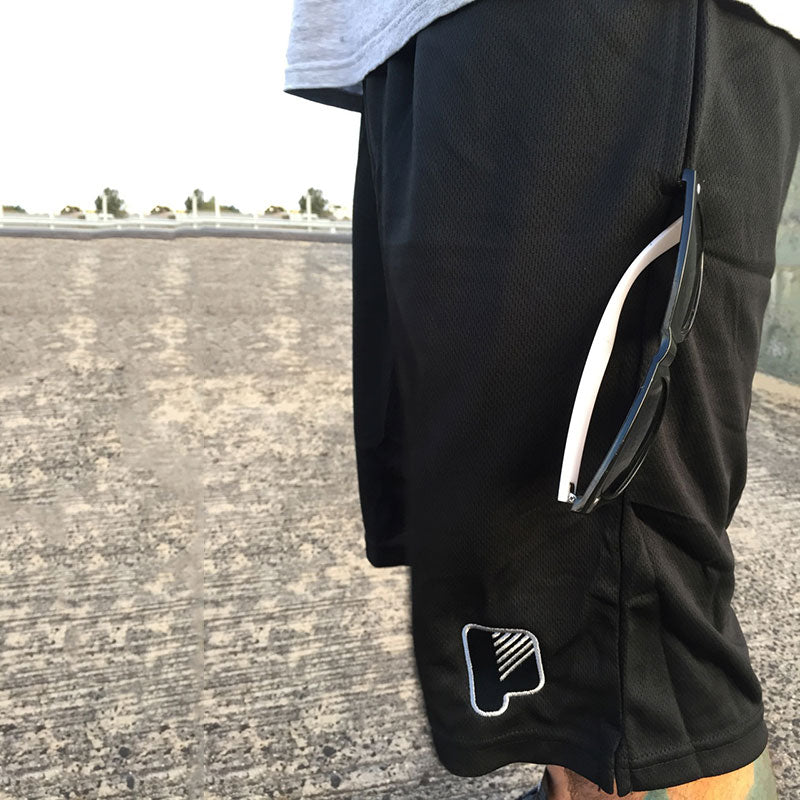 Primary B-Ball Shorts Black
