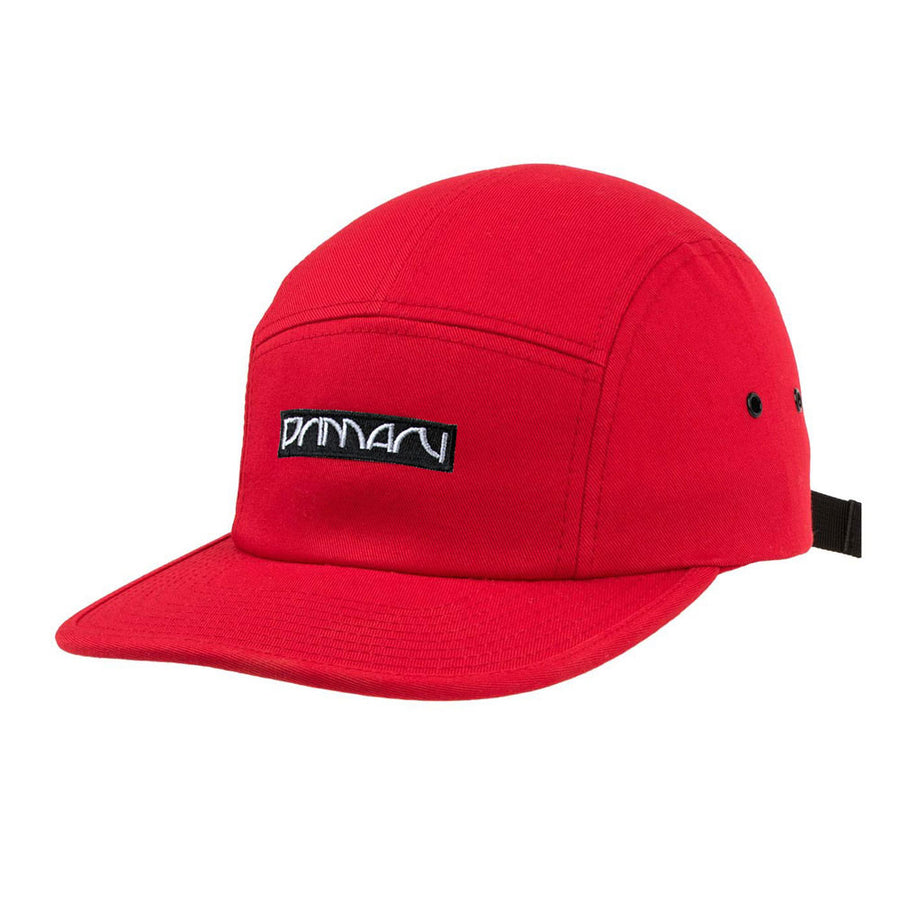 Primary 'Boxed In' Cap Red