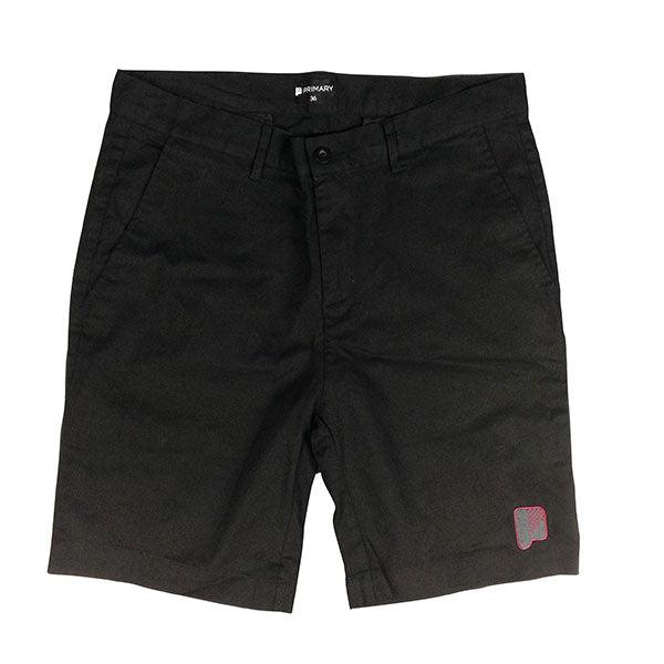 Primary Chino Shorts Black