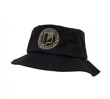 Circle Bucket Hat Black