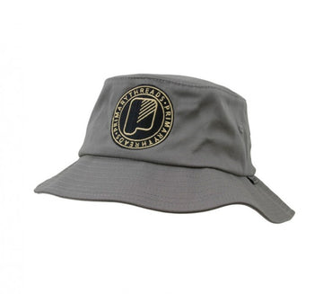 Circle Bucket Hat Grey