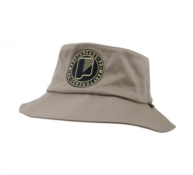 Circle Bucket Hat Khaki