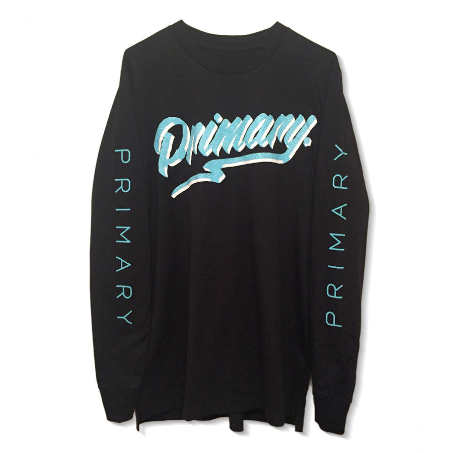 Primary Get Rad Black Long Sleeve