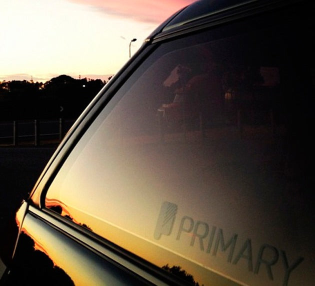 Primary Car Sticker