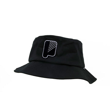 Big P 3D Bucket Hat Black