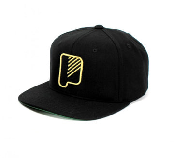 P Snap Cap Black
