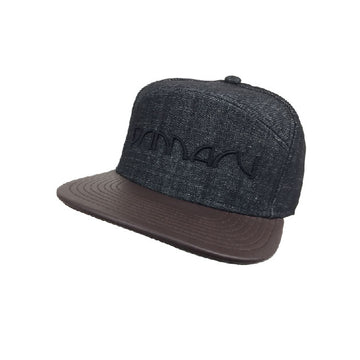 Primary 'Night life' Denim/Leather Cap