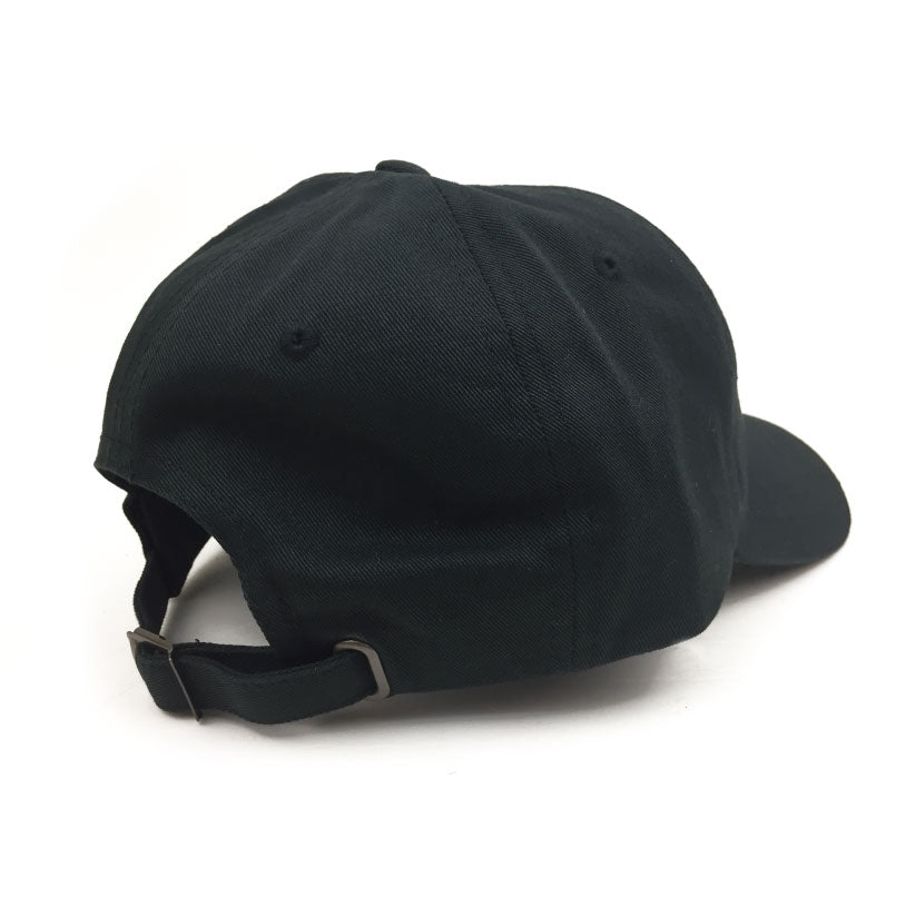 Primary 'Relax' Black Dad Cap