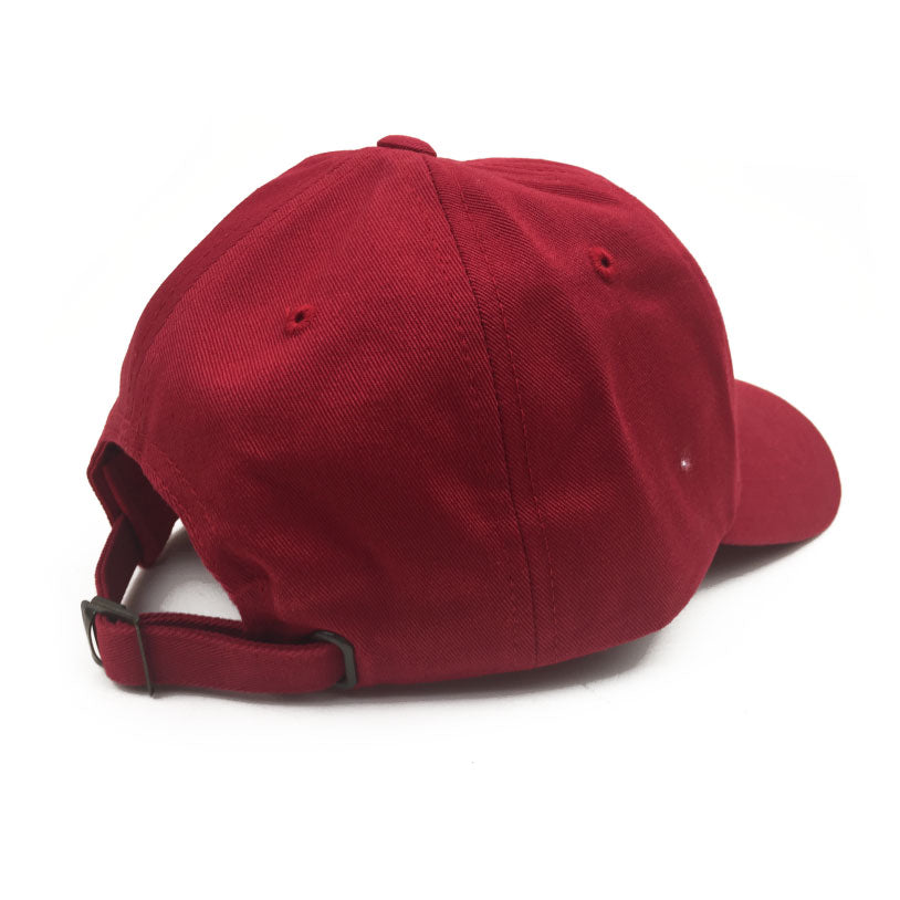 Primary 'Relax' Cherry Dad Cap