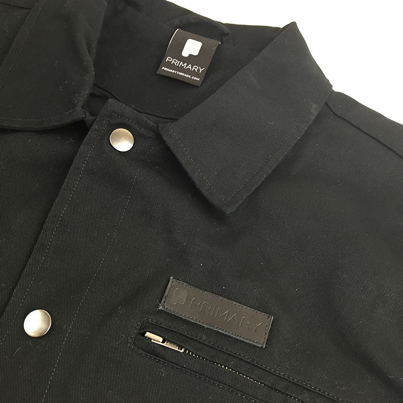 Primary Button Shirt Black