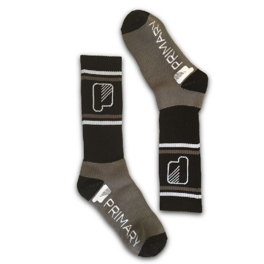Primary Stay Grey Socks