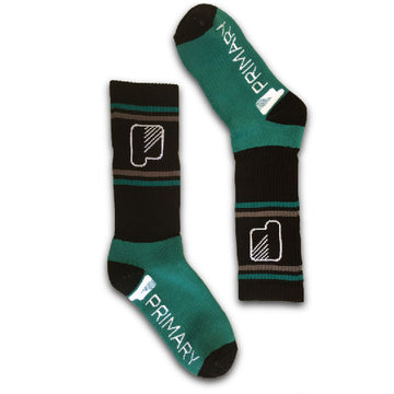 Primary Teal for Real Socks