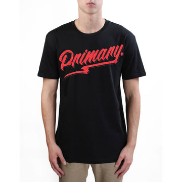 Primary Get Rad Tee - Red on Black