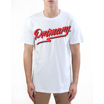 Primary Get Rad Tee - Red on White