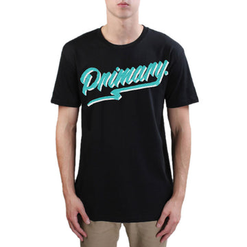 Primary Get Rad Tee - Teal on Black