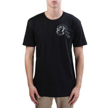 Primary Northcote Pigeon Tee - White on Black