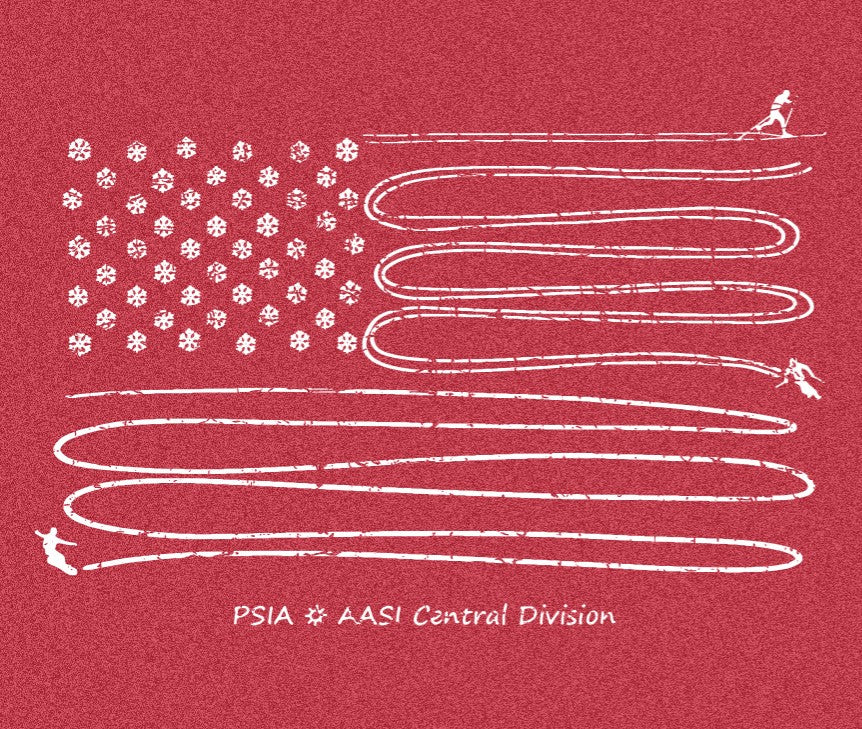 PSIA/AASI Central Division T-shirt