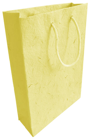 Yellow Plantable Seed Paper Gift Bag