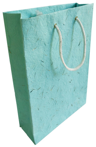 Turquoise Plantable Seed Paper Gift Bag