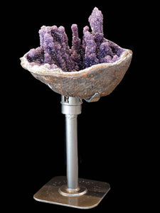 AMETHYST TOWER PIECE